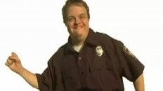 Retarded Policeman