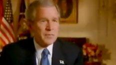 President Bush Visits Yankee Stadium: 2001
