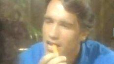 Young Arnold Schwarzenegger in Brazil