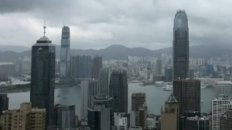 Time Lapse: Typhoon Hits Hong Kong