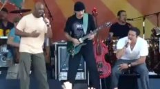 Carlos Santana at New Orleans Jazz Fest 2008