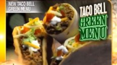 Taco Bell's New Green Menu