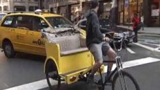 Pedicab Operator Taxi Cab Brawl