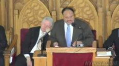 Bill Clinton Falls Asleep During Martin Luther King Speech