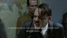 Hitler Finds Out About New Watchmen Ending