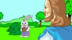 Jesus Vs. The Easter Bunny