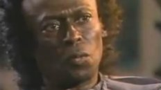 "Miles Davis interview on CBS News ""60 Minutes"""