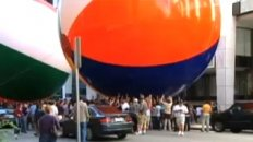 World's Biggest Beach Ball