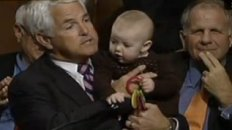 Republican Uses Baby As Prop During Anti-Health Reform Speech