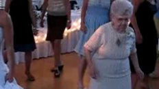 102 Year Old Dancing the Electric Slide