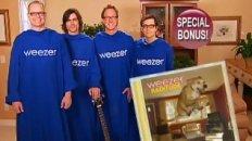 Weezer Snuggie Infomercial