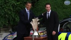 President Obama and NASCAR at the White House