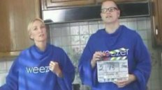 The Making of Weezer's Snuggie Infomercial