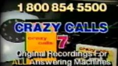 Crazy Calls - Answering Machine Tape TV Ad