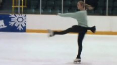 Awesome Ice Skating Warm-Up Routine