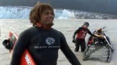 Glacier Surfing in Alaska