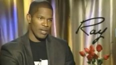 Jamie Foxx Interview for Ray
