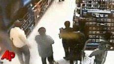 Raw Video: Man Smashes TVs at Wal-Mart