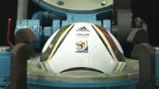 Production process of the official 2010 FIFA World Cup match ball Jabulani