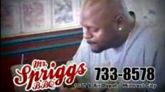 Mr. Spriggs BBQ Commercial