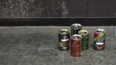 Stop Motion With Cans