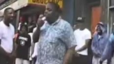 A 17 Year Old Biggie Smalls Freestyles