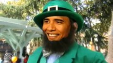 "Barack ""The Shamrock"" O'Bama"