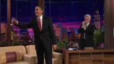 Highlights with the President's sit down with Jay Leno