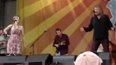 Battle of Evermore Live! Plant and Krauss at New Orleans Jazz Fest