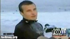 Surfer Interview Fail