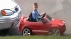 Little Kid Parallel Parking