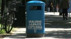 World's Deepest Trash Can
