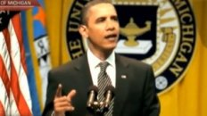 Obama Caught Lip-Syncing Speech