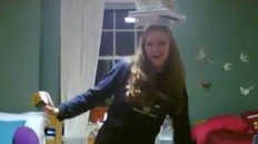 balancing 15 books on my head, reciting pi to the 100th digit, and solving a rubik's cube.