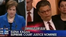 Al Franken Caught Sleeping During Kagan Testimony