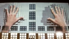 555 KUBIK - Facade Projection