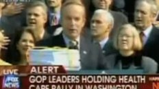 Rep. Todd Akin Says Pledge Of Allegiance