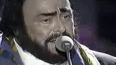 "James Brown and Luciano Pavarotti - ""It's a Man's World"""