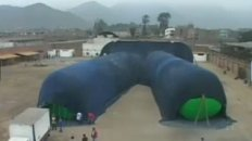 World's Largest Pair of Jeans