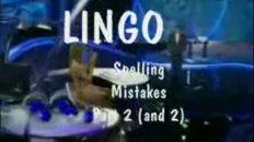 LINGO Spelling Mistakes