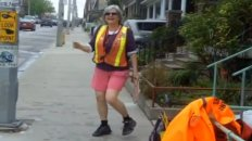 Kathleen: The Dancing Crossing Guard
