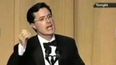Colbert roasts Bush
