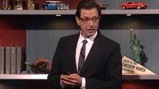 Jeff Goldblum Will Be Missed - Colbert on Twitter's Umm 'Reporting'