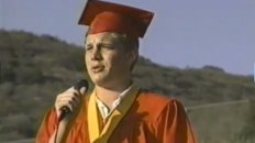 Adam Lambert at Mt. Carmel Graduation 2000