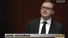 John Hodgman at Radio &amp; TV Correspondents&#039; Dinner