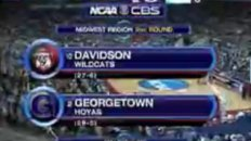 Davidson Stuns Georgetown - NCAA March Madness 2008