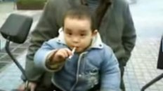 Kid Smoking in China