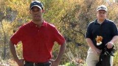 Tiger Woods Hallmark Parody