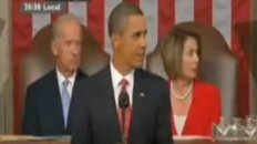 Liar!: Loud Shout Interrupts Key Point in Obama Address to Congress