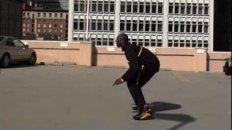 Laker Kobe Bryant Attempts Massive Stunt